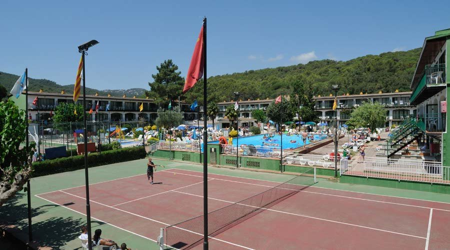 Tennis san eloy apartment tossa de mar