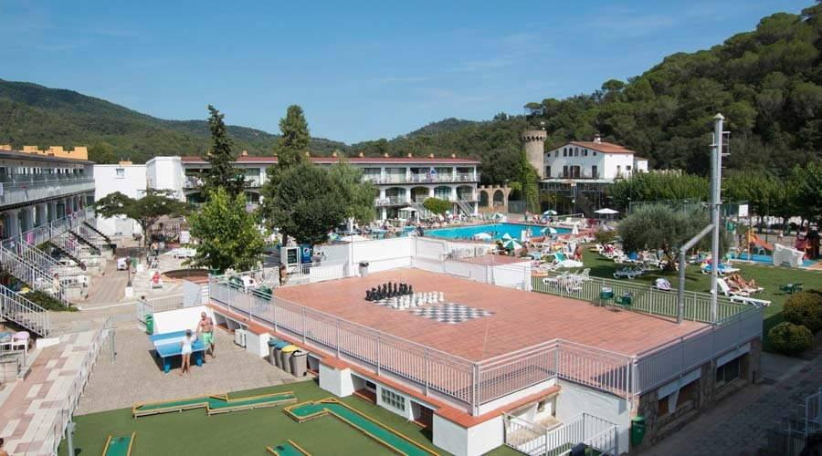 Games area apartment tossa de mar